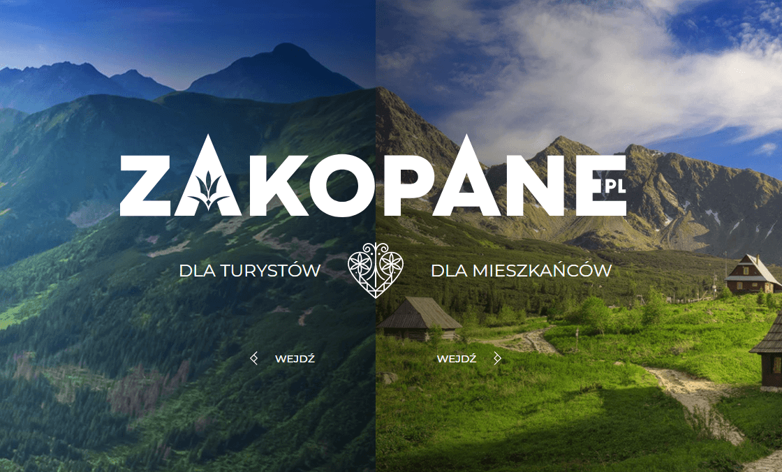 internetowy marketing terytorialny Zakopane