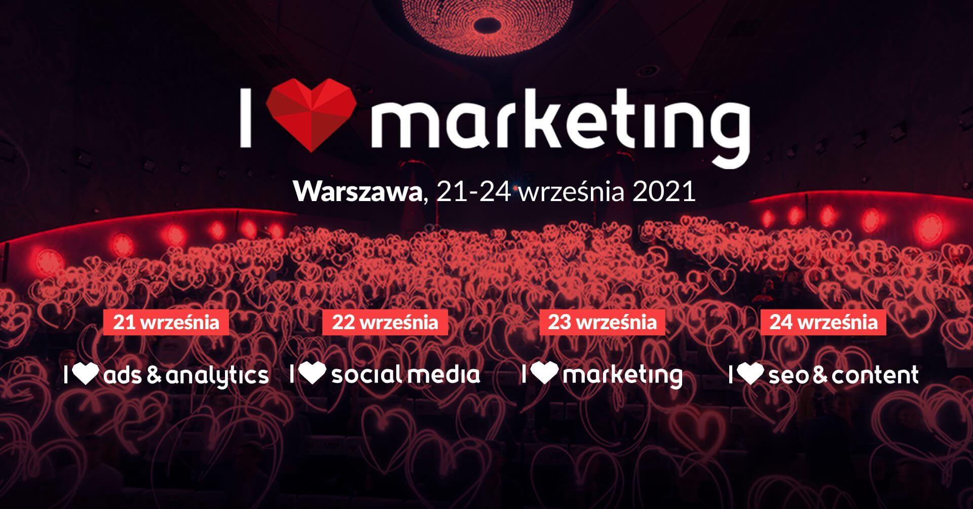 I Love Marketing 2021 Facebook
