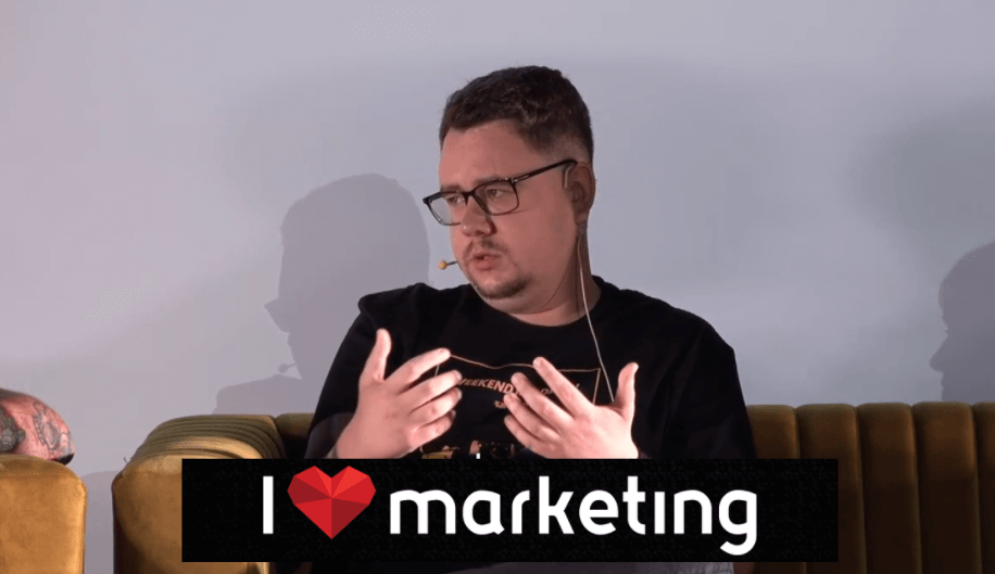 relacja ILove Marketing 2021 Łukasz Rogala